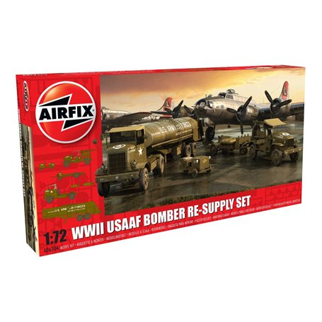 Airfix 06304 WWII USAAF 8th Air Force Bomber Resupply Set