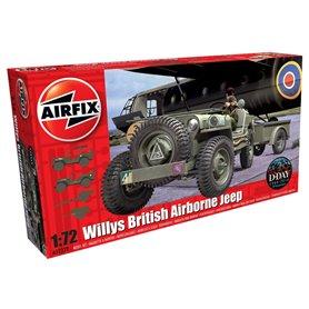 Willys British Airborne Jeep