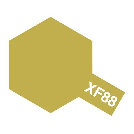 Tamiya 81788 XF-88 Dark Yellow 2, 10 ml, burk med skruvlock. Tamiya Akrylfärg. XF88