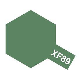 Tamiya 81789 XF-89 Dark Green 2, 10 ml, burk med skruvlock. Tamiya Akrylfärg. XF89