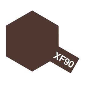 Tamiya 81790 XF-90 Red Brown 2, 10 ml, burk med skruvlock. Tamiya Akrylfärg. XF90