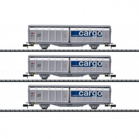 Trix 15282 Vagnsset med 3 godsvagnar Hbiillns typ SBB|CFF|FFS 'Cargo'