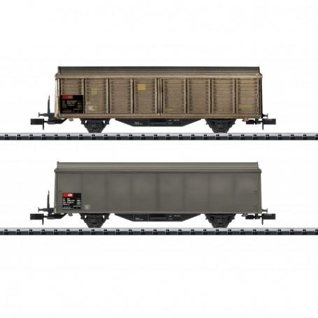 Trix 15307 Vagnsset med 2 godsvagnar Hbis-v typ SBB|CFF|FFS