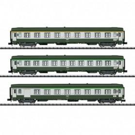 Trix 15372 Vagnsset med 3 personvagnar typ SNCF 'Orient Express'