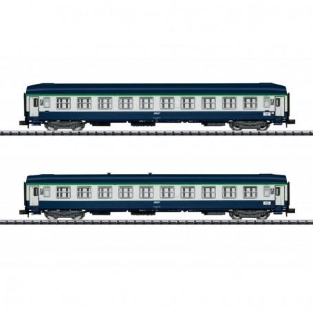 Trix 15373 Vagnsset med 2 personvagnar typ SNCF 'Orient Express'