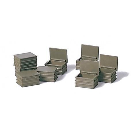 Preiser 18361 Verktygsboxar, militära