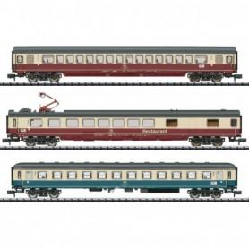 Trix 15459 Vagnsset med 3 personvagnar 'IC 611 Gutenberg Express' typ DB