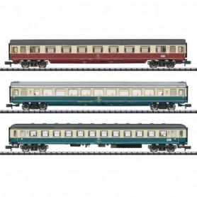 Trix 15460 Vagnsset med 3 personvagnar 'IC 611 Gutenberg Express' typ DB