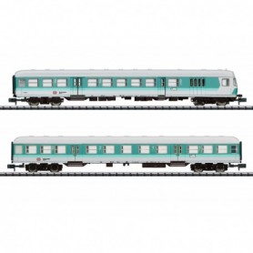 Trix 15467 Vagnsset med 2 personvagnar typ DB