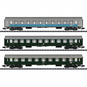 Trix 15995 Vagnsset med 3 personvagnar 'Baltic Orient Express' typ DR