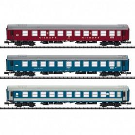 Trix 15996 Vagnsset med 3 personvagnar 'Baltic Orient Express' typ DR