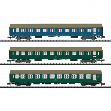Trix 15997 Vagnsset med 3 personvagnar 'Baltic Orient Express' typ CSD