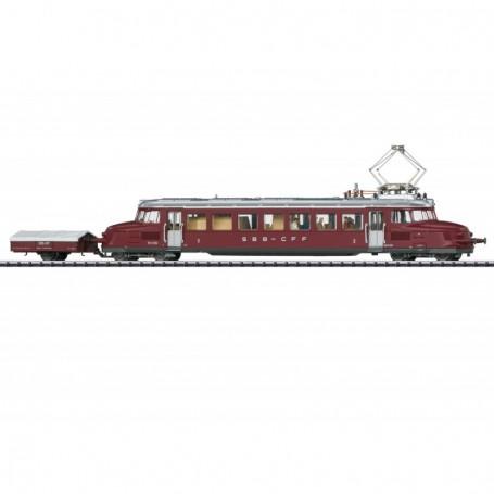 Trix 22867 Eldriven rälsbuss klass RBe 2|4 'Blue Arrow' klass SBB|CFF|FFS