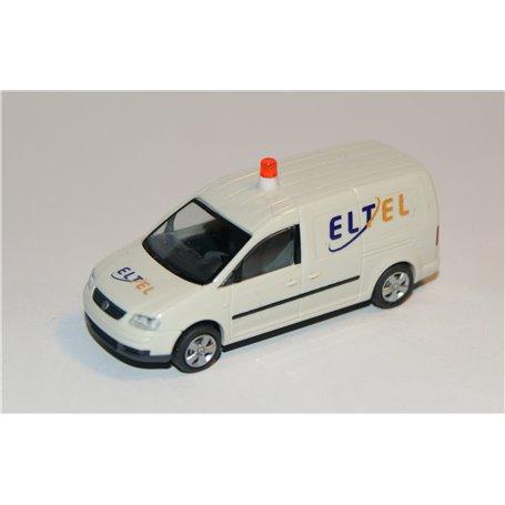"""AHM AH-750 VW Caddy Maxi Skåp """"ELTEL"""" med varningslampa"""