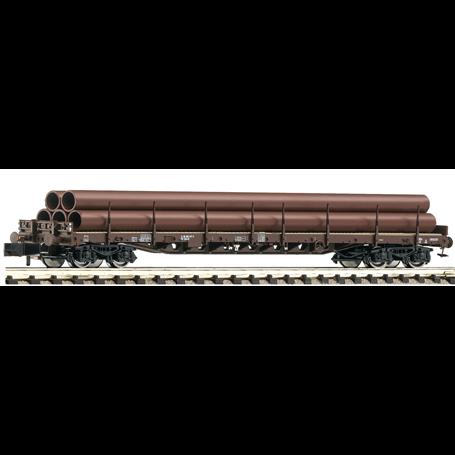 Fleischmann 826808 Stolpvagn Rs typ DSB med last av rör