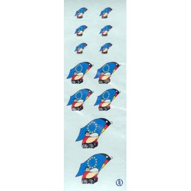 TL 1999 Dekalark, EU flagga