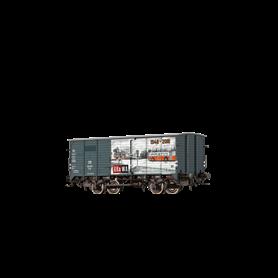 """Brawa 49748 Godsvagn G10 125 370 typ DB """"Brawa 70 Years"""""""