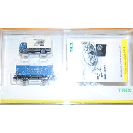 "Trix 15327 Museumsvagn 2003 ""Grundig"" typ DB"