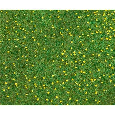 """Faller 180462 Landskapssegment """"Landscape segment"""" äng med maskrosor"""