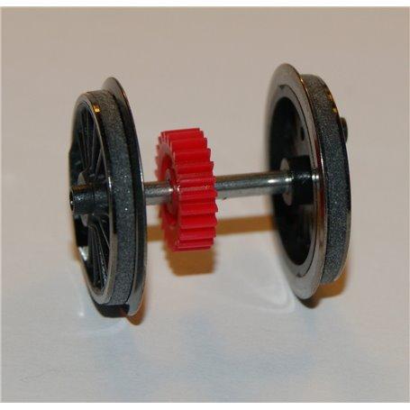 Roco 130864 Drivhjul med slirskydd och kugghjul, passar för bl.a. Rocos DA