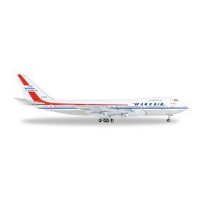 Herpa 528382 Flygplan B747-100 Wardair