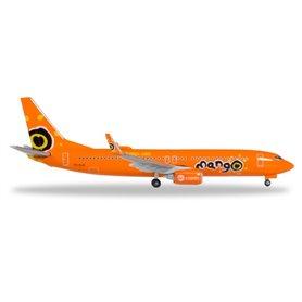 Herpa 531351 Flygplan Mango Boeing 737-800 - ZS-SJO