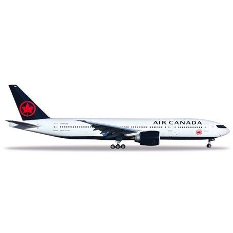 Herpa 531801 Flygplan Air Canada Boeing 777-200LR