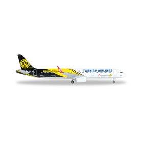 "Herpa 528825 Flygplan Turkish Airlines Airbus A321 ""BVB 09 Borussia Dortmund"""