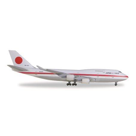 Herpa 511575-001 Flygplan Japan Air Self Defence Force 747-400