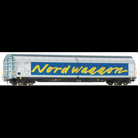 """Roco 67318 Godsvagn med skjutdörrar Habins typ SJ """"Nordwaggon"""""""