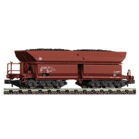 Fleischmann 852708 Självavlossande vagn Falns 150666 4 192-5 typ DB med last av kol