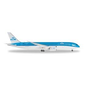 Herpa 557450 Flygplan KLM Boeing 787-9 Dreamliner