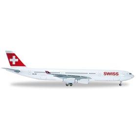 Herpa 556712 Flygplan Swiss International Air Lines Airbus A340-300