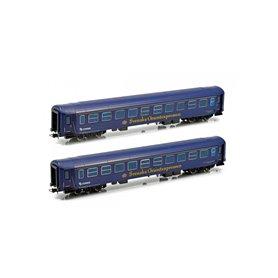 "NMJ 106901 Personvagnsset med 2 st personvagnar ""Connex R7 / BS-7"""