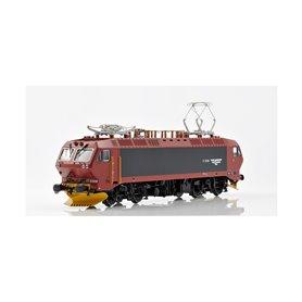 NMJ 80101AC Ellok NSB EL 17 2221 i rödbrun|svart design