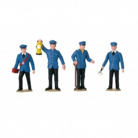 LGB 53001 Sats med 4 figurer 'Railroad Workers Germany'