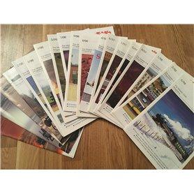 Märklin INSIDER Märklin Insiderkatalog, osorterade, äldre utgåvor