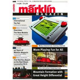 Märklin 175569 Märklin Magazin 1/2005 Engelska