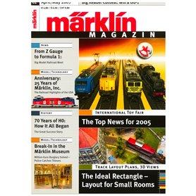 Märklin 175573 Märklin Magazin 2/2005 Engelska