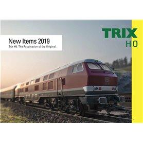 Trix 329782 Trix H0 Nyhetskatalog 2019 Engelska