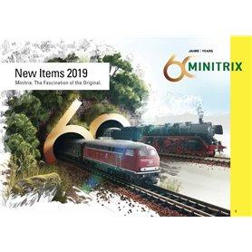 Trix 331062 Minitrix N-Skala Nyhetskatalog 2019 Engelska