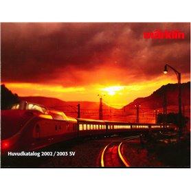 Media KAT495 Märklin Huvudkatalog 2002/2003 på Svenska