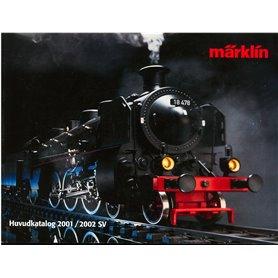 Media KAT496 Märklin Huvudkatalog 2001/2002 på Svenska