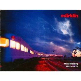 Media KAT499 Märklin Huvudkatalog 1997/98 på Svenska