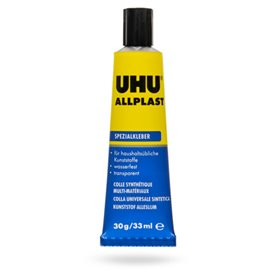 UHU 840609 UHU Allplast Tub 33ml Blister