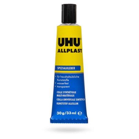 UHU 840609 UHU Allplast Tub 33ml Blister
