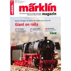 Märklin Magazin 1/2019 Engelska
