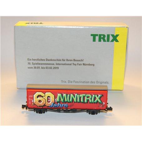 """Godsvagn Hbis typ DB """"60 Jahre Minitrix"""""""
