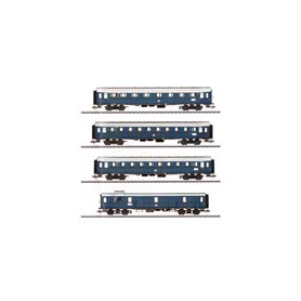 """Märklin 42228 Vagnsset med 4 personvagnar typ DB """"Nürnberg mässan 2019"""""""