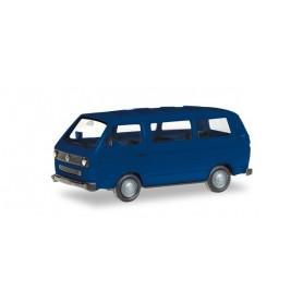 Herpa 013093-002 Herpa MiniKit. VW T3 Bus, Ultra marine blue